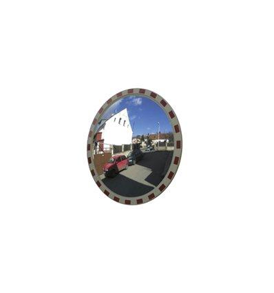Oglinda circulara convexa supraveghere trafic