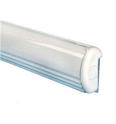 Profil alb din aluminiu cu adeziv
