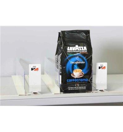 Sistem pusher pentru cafea ambalata
