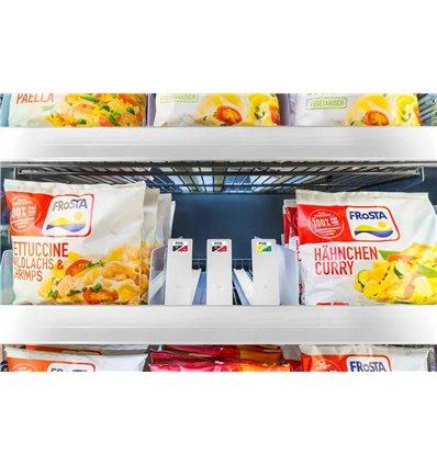 Sistem pusher pentru alimente congelate