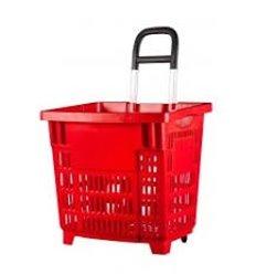 Cos cumparaturi tip Roller plastic 38 Litri