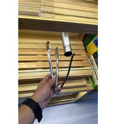 Cleste inox pentru produse patiserie cu suport inox