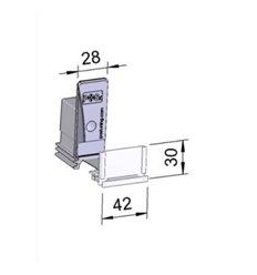 Pusher B28x70, 10N, cu front 42x30 mm