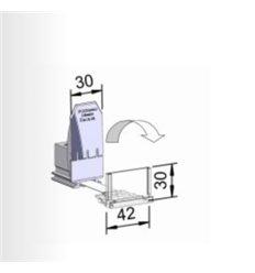 Pusher B30x72, 10N, cu front 42x30 mm
