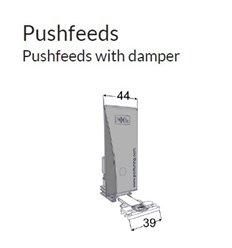 Pusher B44x110, SloMo4N, cu front 39x8 mm