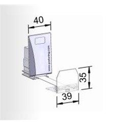 Pusher B40x70, 2N, cu front 39x35 mm