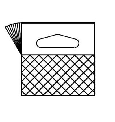 Agatatoare PVC pentru carlige Delta