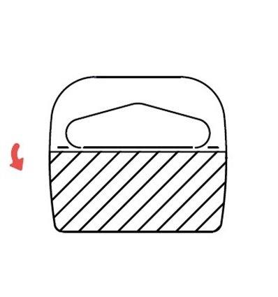 Agatatoare medii, foldable, PVC, pentru carlige Delta