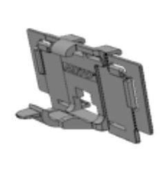 Clema Vusion pentru rafturi Tego cu 2 unghiuri de inclinare, pentru etichete electronice Imagotag G2
