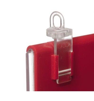 Adaptor simplu pentru suspendarea casetelor de pret