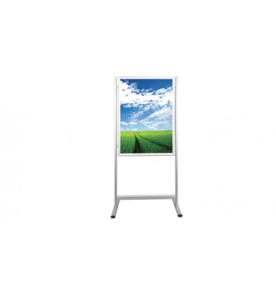 Poster-stand cu rama click