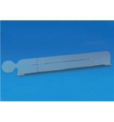 Separator 120 mm telescopic cu shelftalker